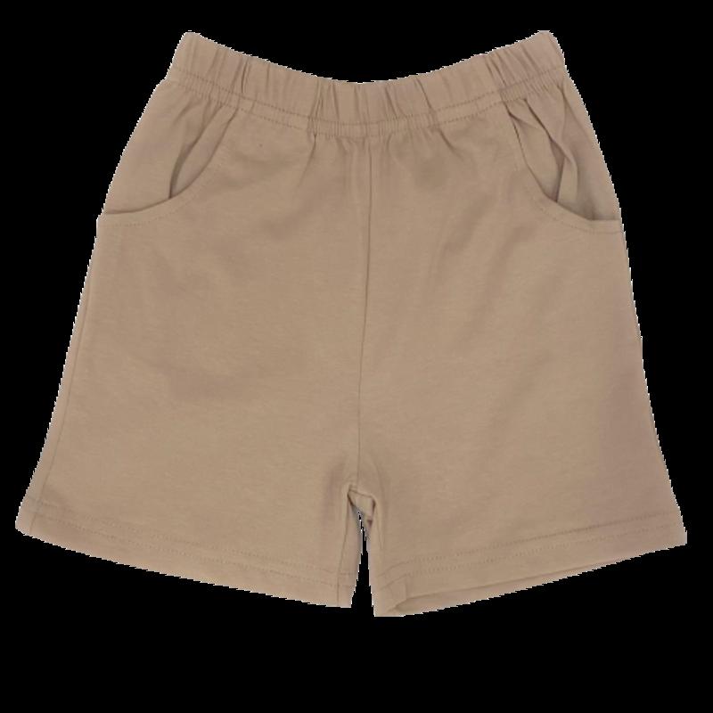 Luigi Luigi Jersey Shorts w/ Pockets - Sand