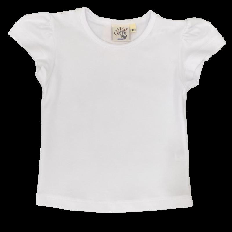 Luigi Luigi White Capsleeve T-Shirt