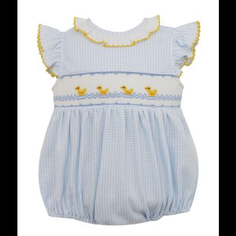 Petit Bebe Petit Bebe Blue Baby Ducks Bubble