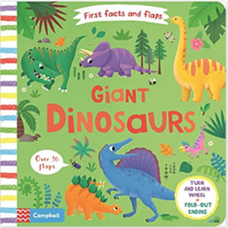 Simon & Schuster First Facts and Flaps: Giant Dinosaurs