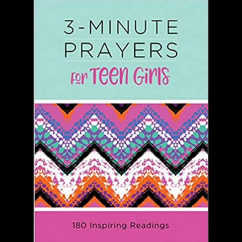 Barbour Publishing 3-Minute Prayers For Teen Girls