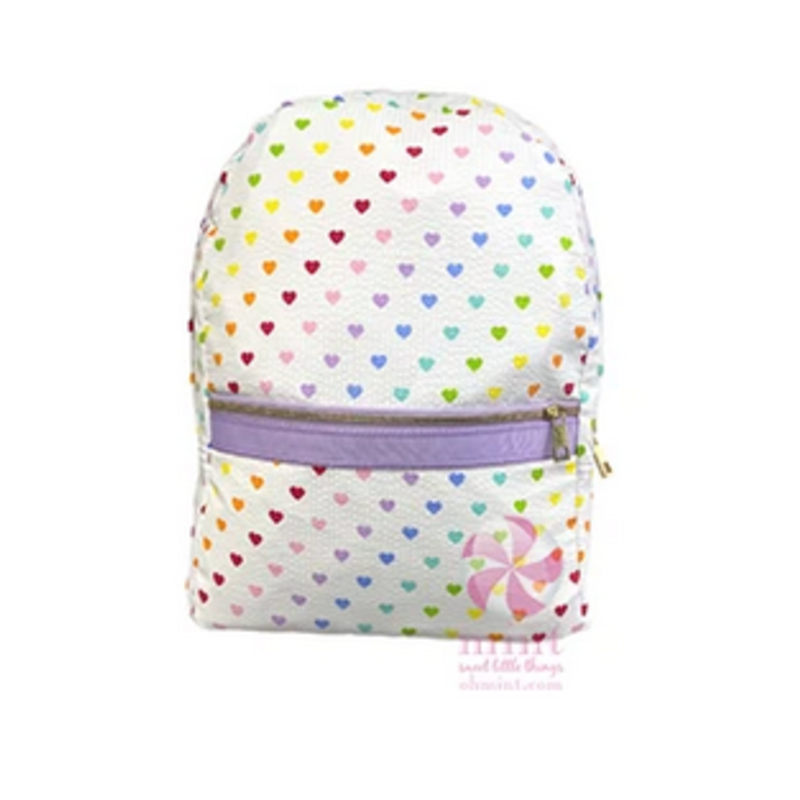Mint Mint Tiny Hearts Small Backpack