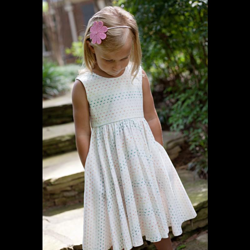 Charming Mary Charming Mary Birdie Pocket Twirl Dress - Heartful