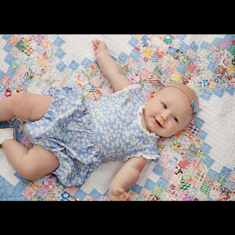 Charming Mary Charming Mary Dahlia's Knit Bubble - Cornflowers