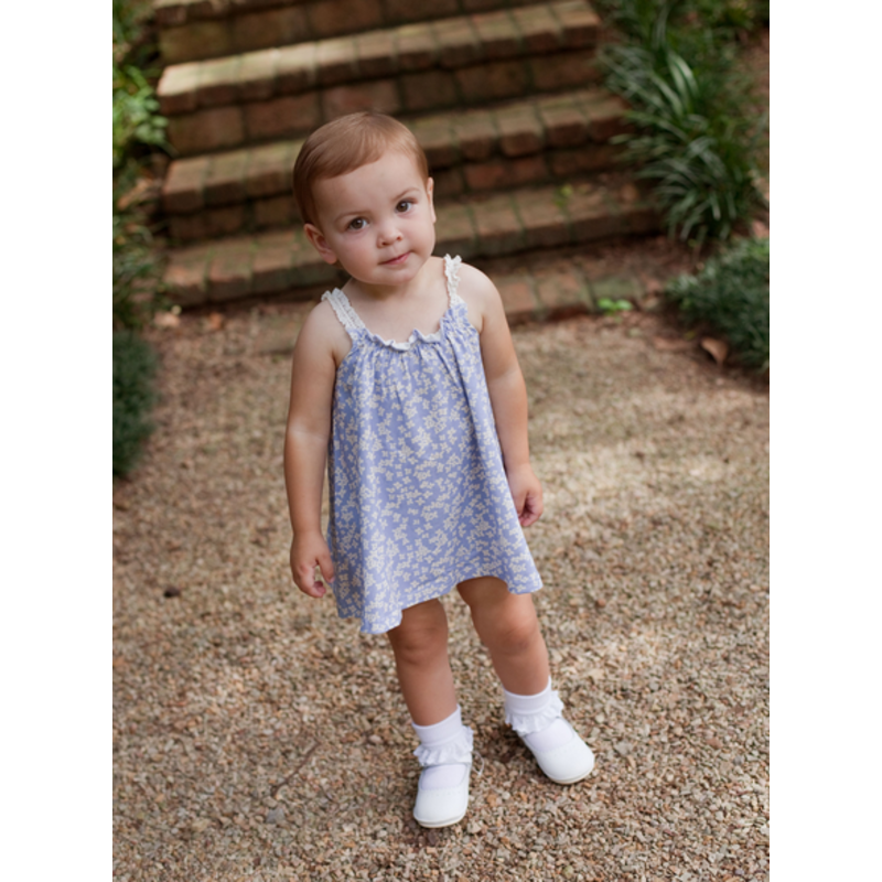Charming Mary Charming Mary Primm's Bloomer Set - Cornflowers
