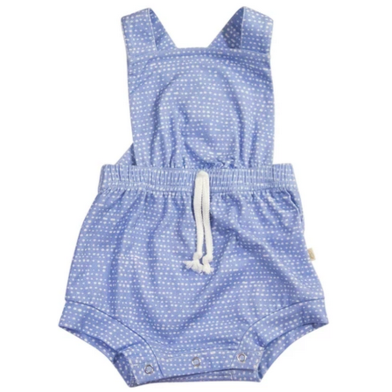 Charming Mary Charming Mary Cottage Romper - Rain Drops