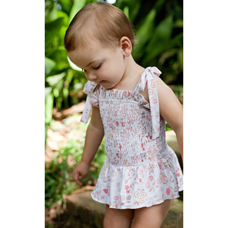 Charming Mary Charming Mary Sammie Smocked Swim - Vintage Meadow
