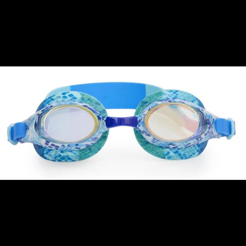 Bling2o Bling2o Jake The Snake Boa Blue Goggles