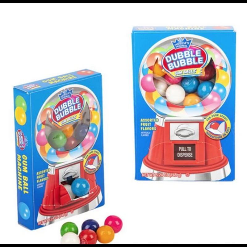 La Luna Bella Dubble Bubble Gum Ball Machine Box