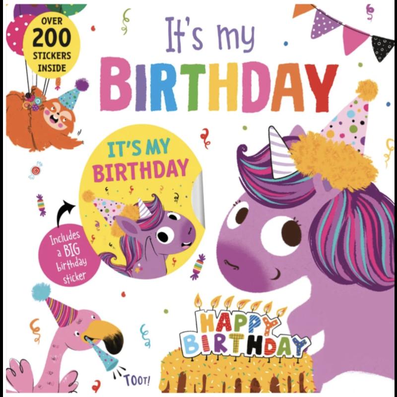 sourcebooks It's My Birthday (Unicorn)