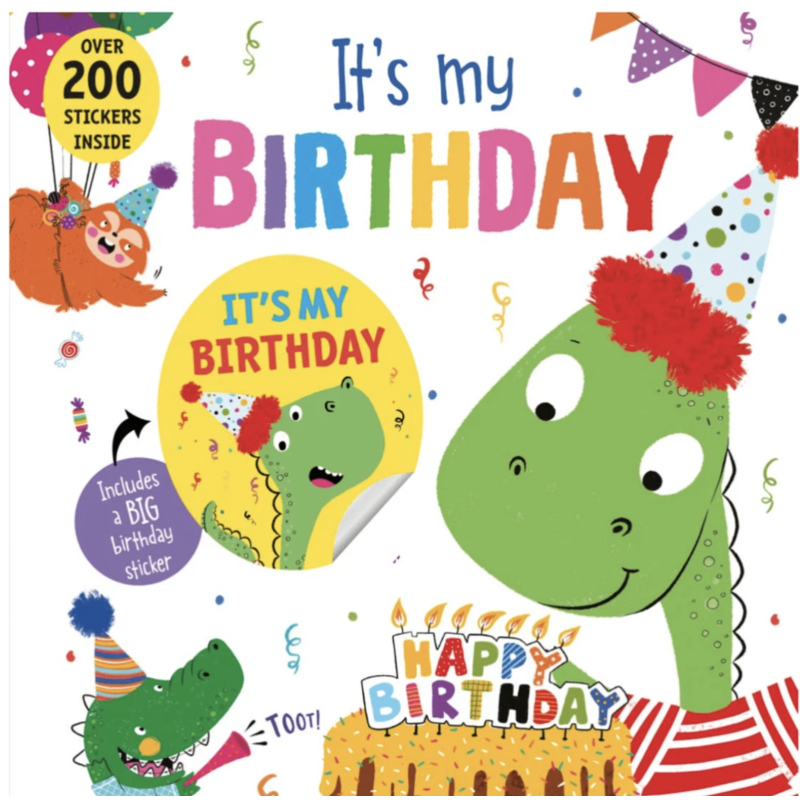 sourcebooks It's My Birthday (Dinosaur)