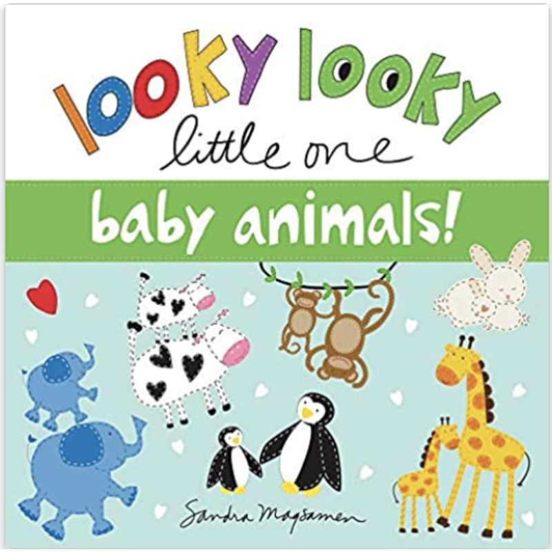sourcebooks Looky Looky Little One: Baby Animals
