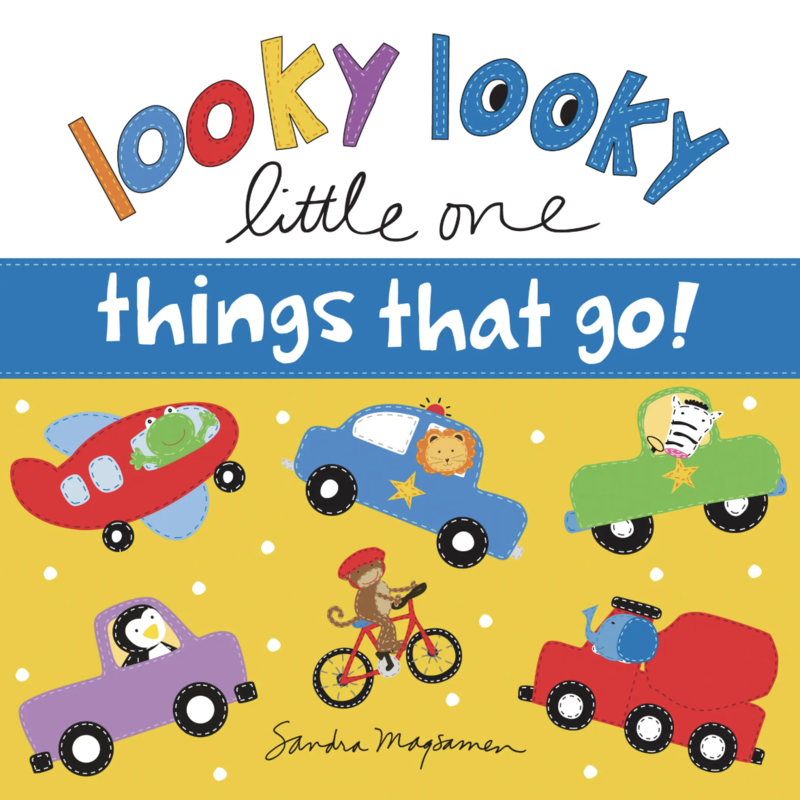 sourcebooks Looky Looky Little One: Things That Go