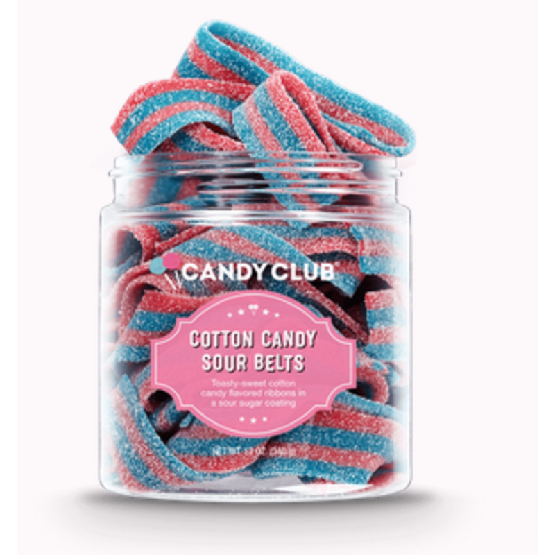 Candy Club Candy Club Cotton Candy Sour Belts