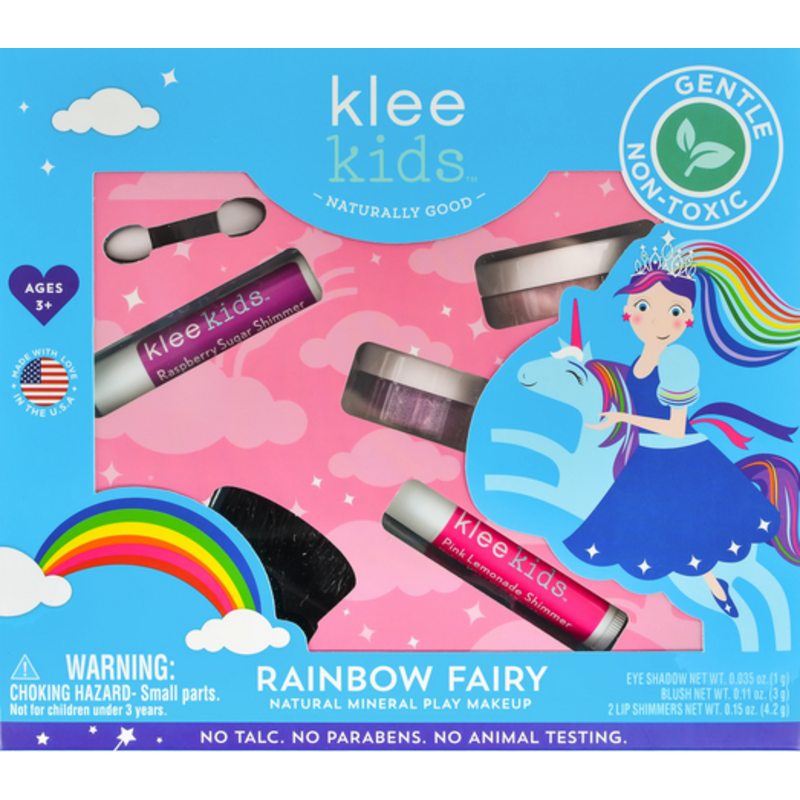 Klee Kids Klee Kids Natural Minerals Play Makeup Set - Rainbow Fairy