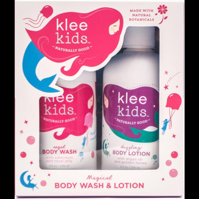 Klee Kids Klee Kids Regal Body Wash & Dazzling Body Lotion Set