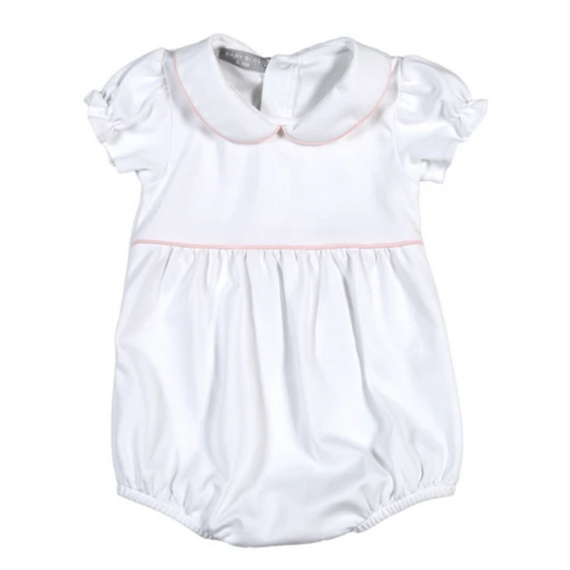 Baby Bliss Isabela White/Pink Bubble