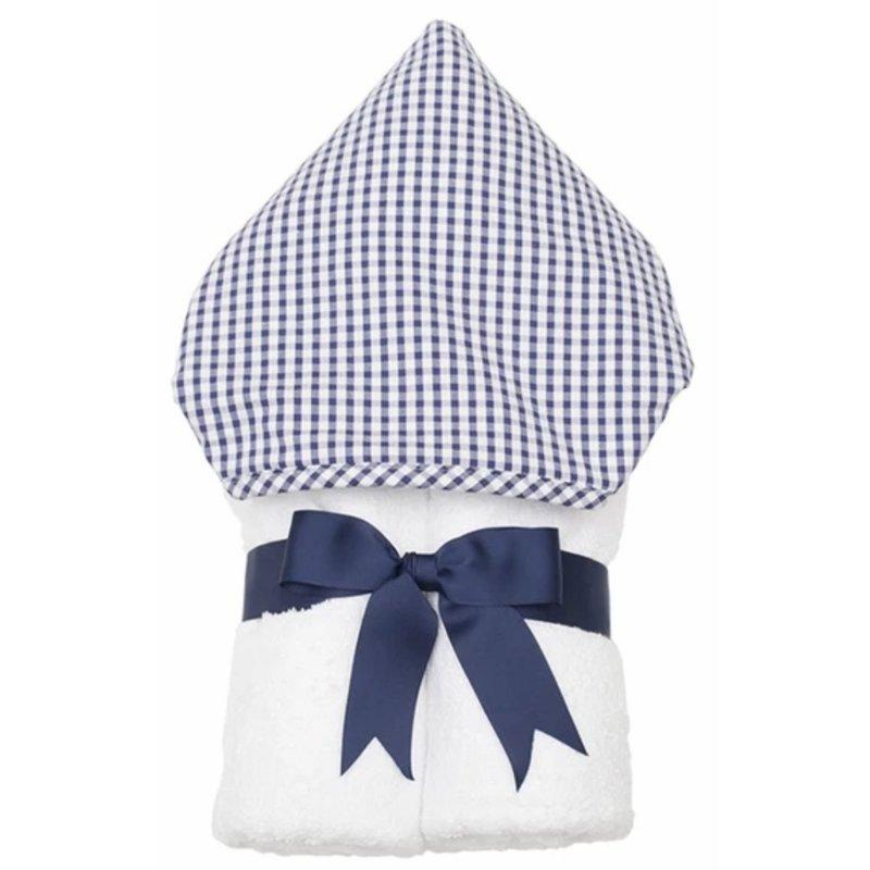 3 Marthas 3 Marthas Navy Check Everykid Towel