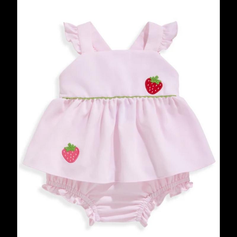 bella bliss bella bliss Pink Pique Sibby Bloomer Set