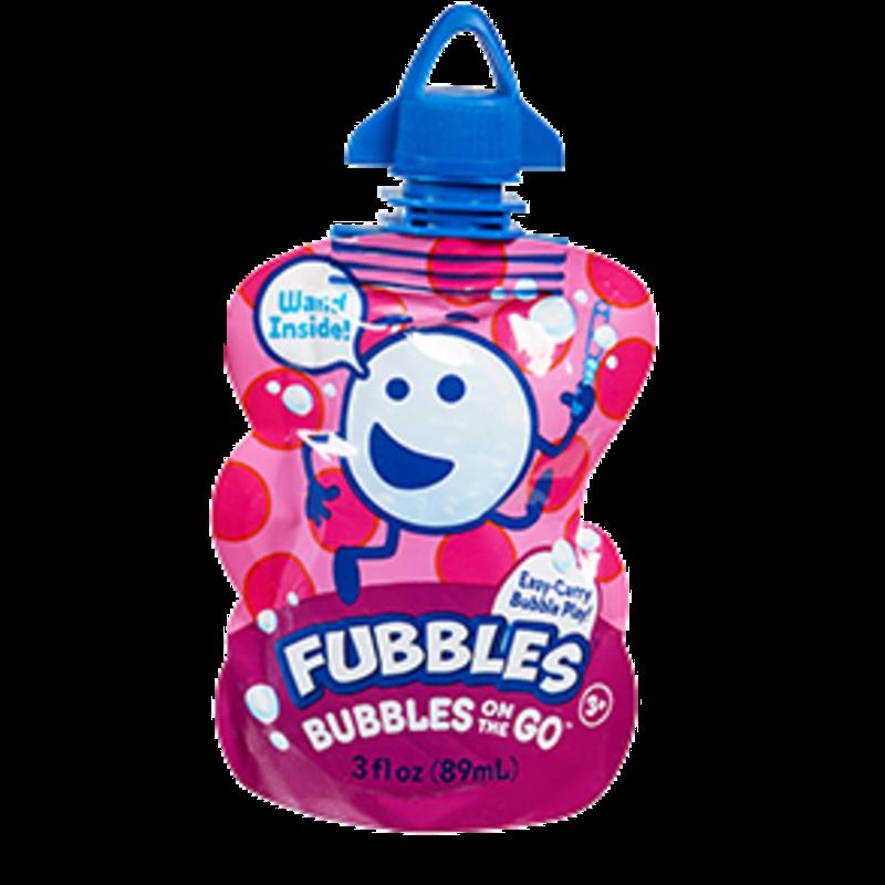 Little Kid Inc Fubbles Bubbles On The Go - Pink