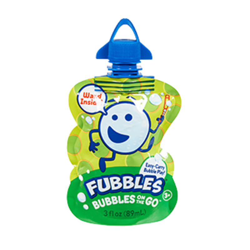 Little Kid Inc Fubbles Bubbles On The Go - Green