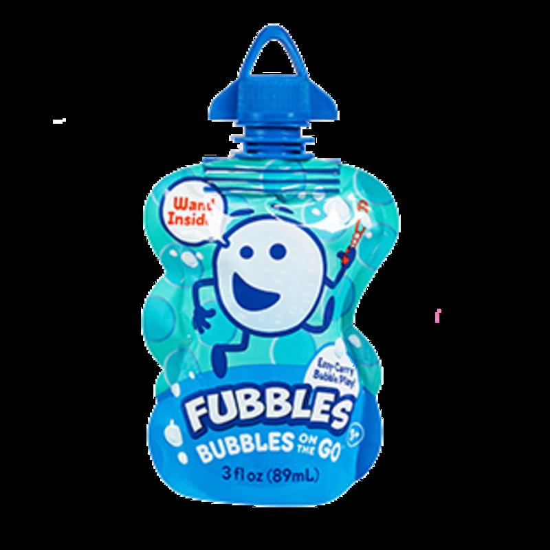 Little Kid Inc Fubbles Bubbles On The Go - Blue