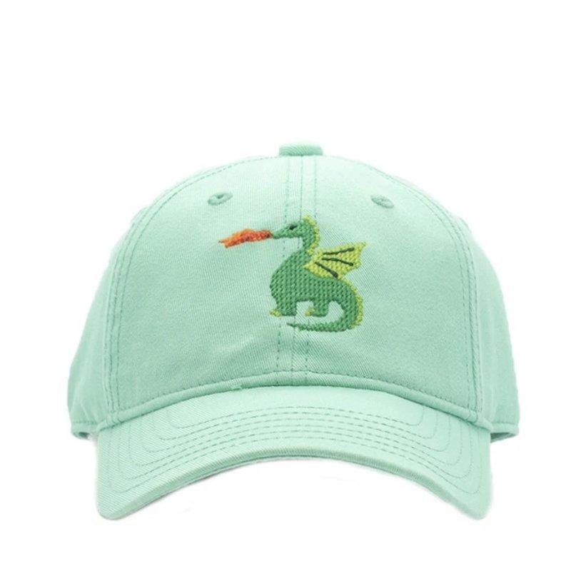 Harding Lane Harding Lane Dragon on Keys Green Hat