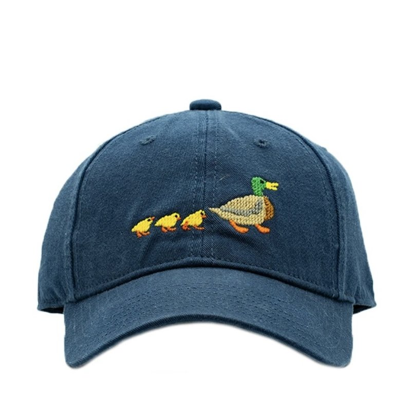 Harding Lane Ducklings on Navy Hat