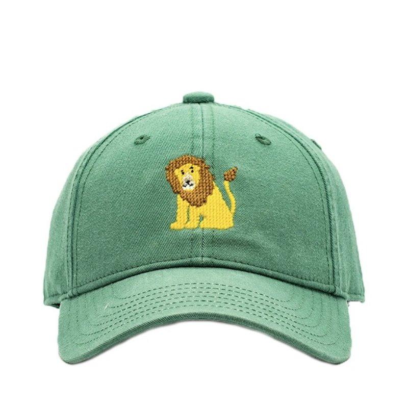 Harding Lane Harding Lane Lion on Moss Green Hat