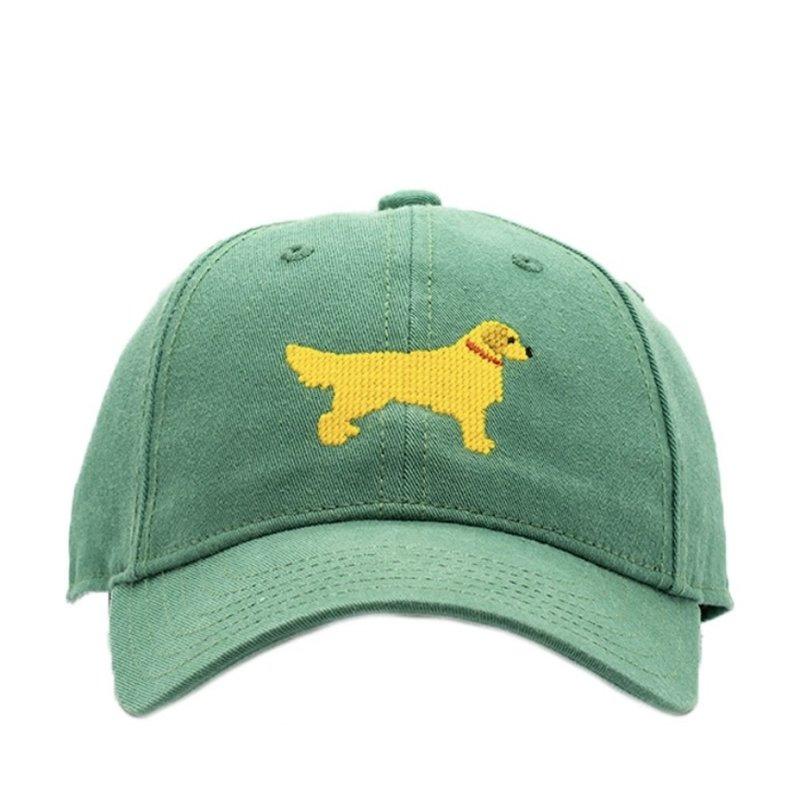 Harding Lane Harding Lane Golden Retriever on Moss Green Hat