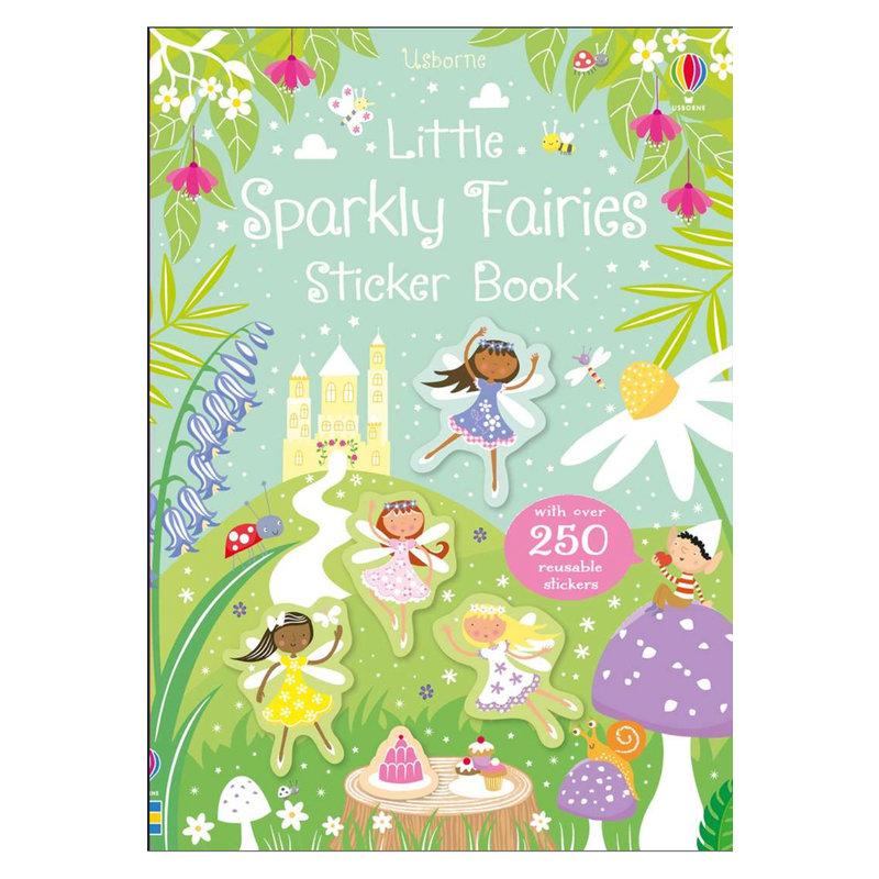 EDC/USBORNE Little Sparkly Fairies Stickers