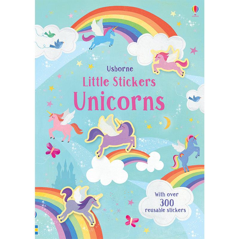 EDC/USBORNE Little Stickers Unicorns