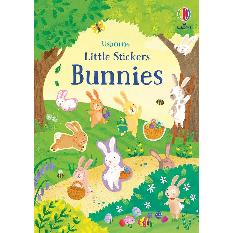 EDC/USBORNE Little Stickers Bunnies