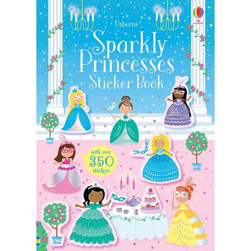 EDC/USBORNE Little Sparkly Stickers Princesses