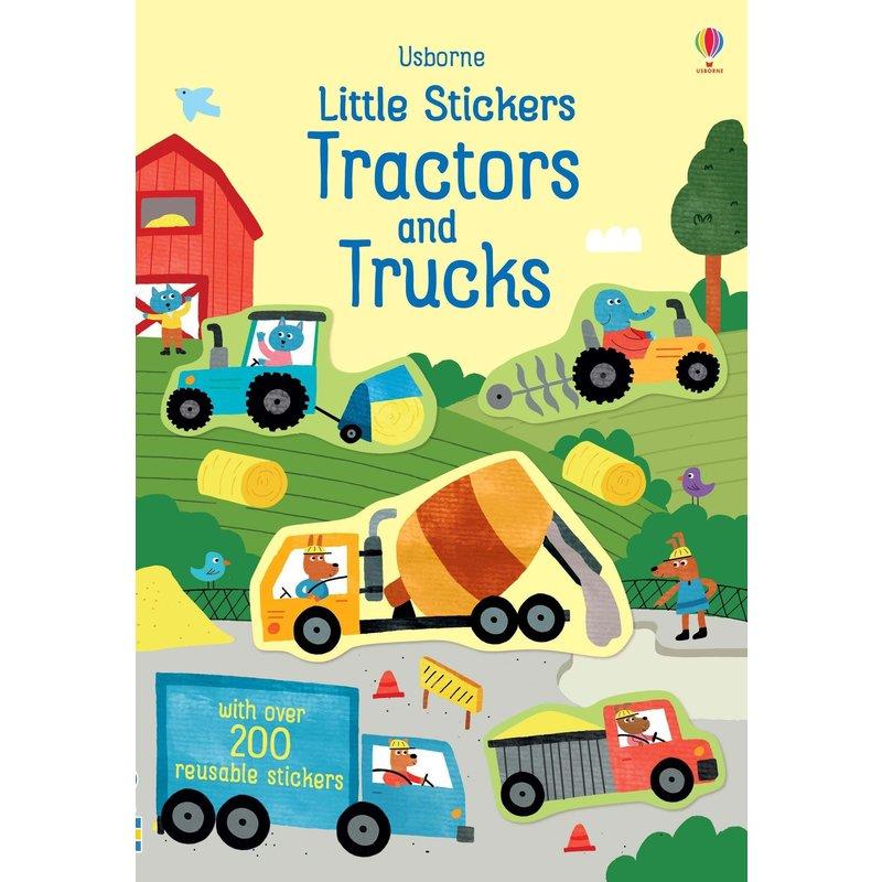 EDC/USBORNE Little Stickers Tractors/Truck