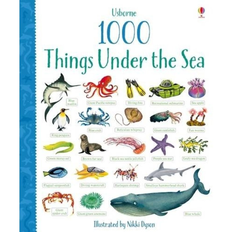 EDC/USBORNE 1000 Things Under the Sea