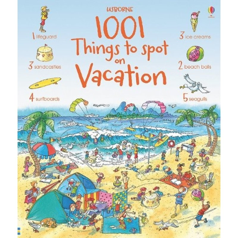 EDC/USBORNE 1001 Things To Spot On Vacation