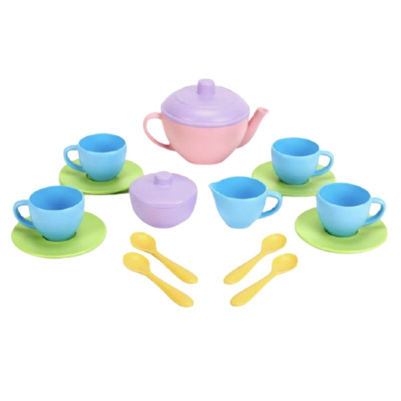 Green Toys Green Toys Tea Set - Pink
