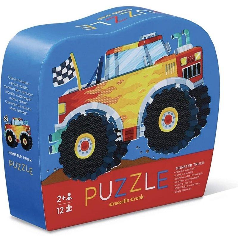 Crocodile Creek 12-pc Mini Puzzle - Monster Truck