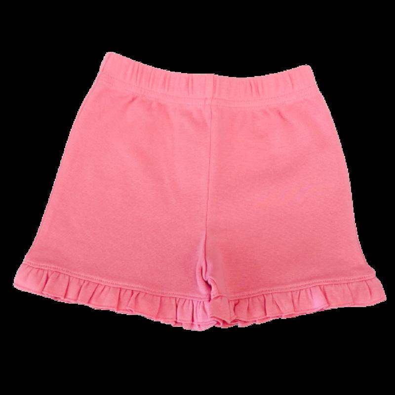 Luigi Luigi Girl's Light Bubblegum Ruffle Shorts