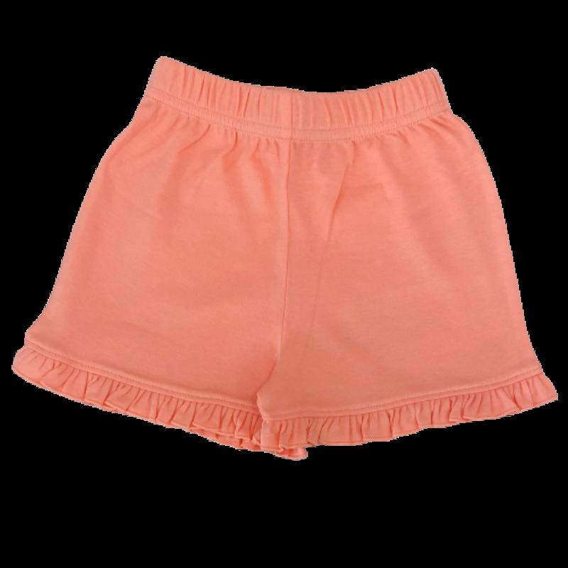 Luigi Luigi Girl's Melon Ruffle Shorts