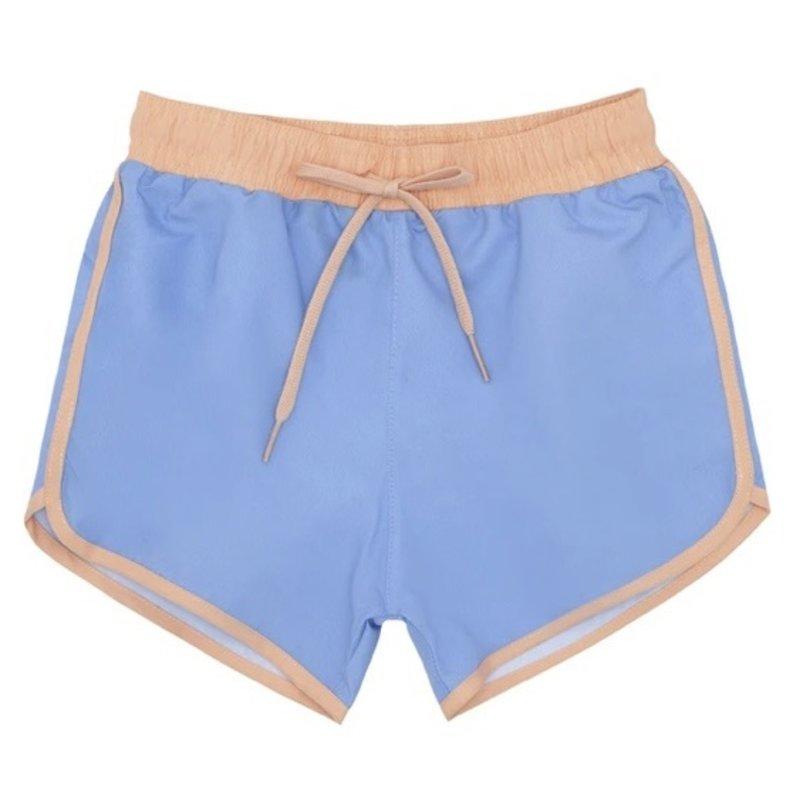 Minnow Minnow Boca Blue Contrast Waistband Boardie