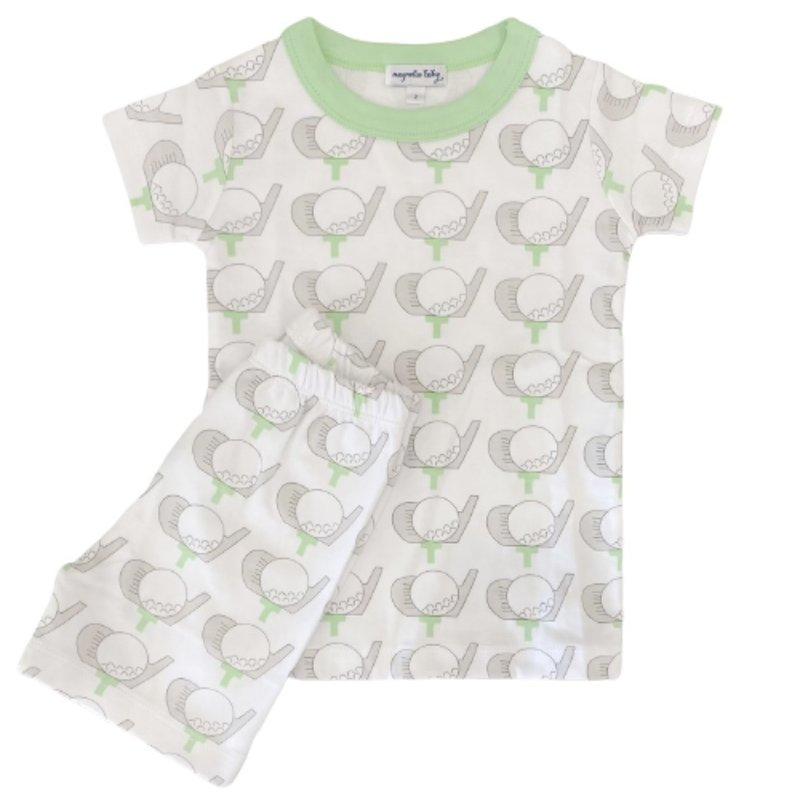 Magnolia Baby Magnolia Baby Golf Celery Short Pajama