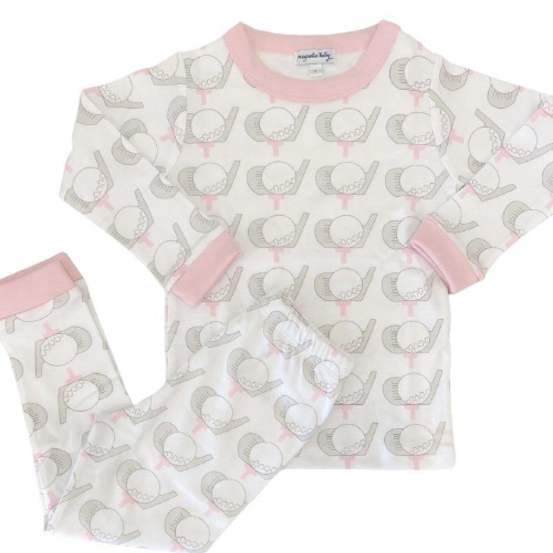 Magnolia Baby Magnolia Baby Golf Pink Long Pajama