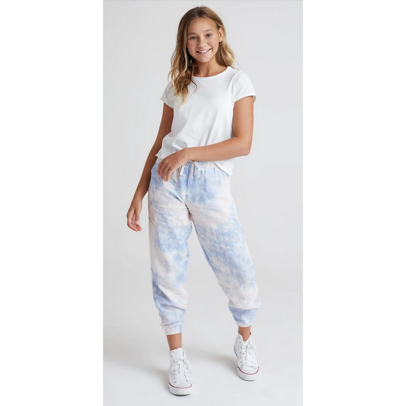 Bella Dahl Girl Bella Dahl Girl Galaxy Tie Dye Jogger