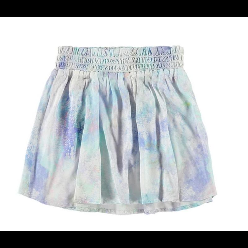 Bella Dahl Girl Bella Dahl Girl Aqua Iridescent Flare Skirt