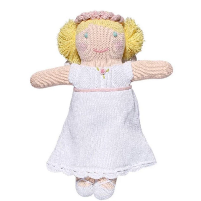 "Zubels Zubels Grace The Angel 12"" Knit Doll"