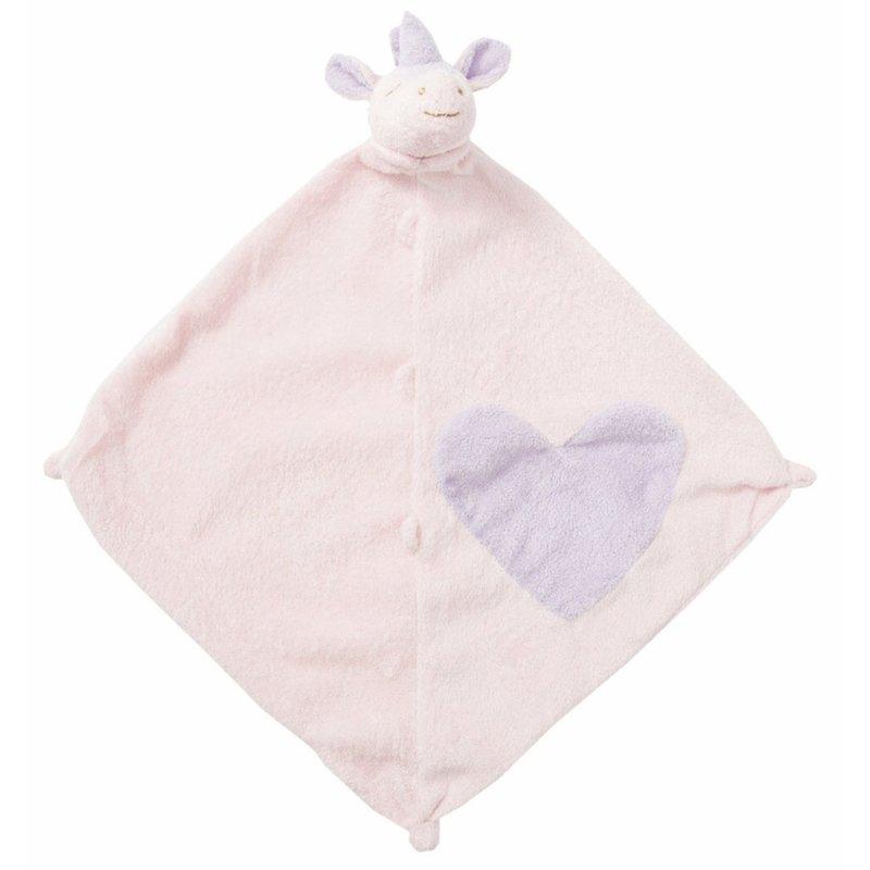 Angel Dear Angel Dear Pink Unicorn Blankie