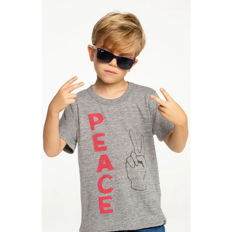 Chaser Chaser Peace Fingers Tee