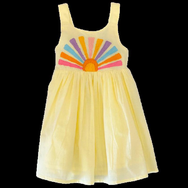 Cheeni Misha Sun Embroidered Dress